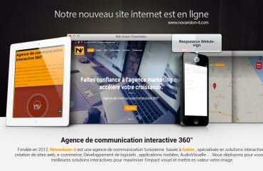 creation site web tunisie