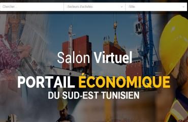 Salon Virtuel - Portail économique du Sud-Est Tunisien