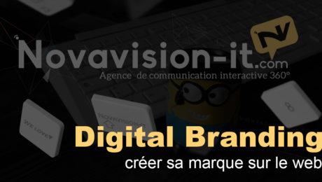 Digital Branding : créer sa marque sur le web