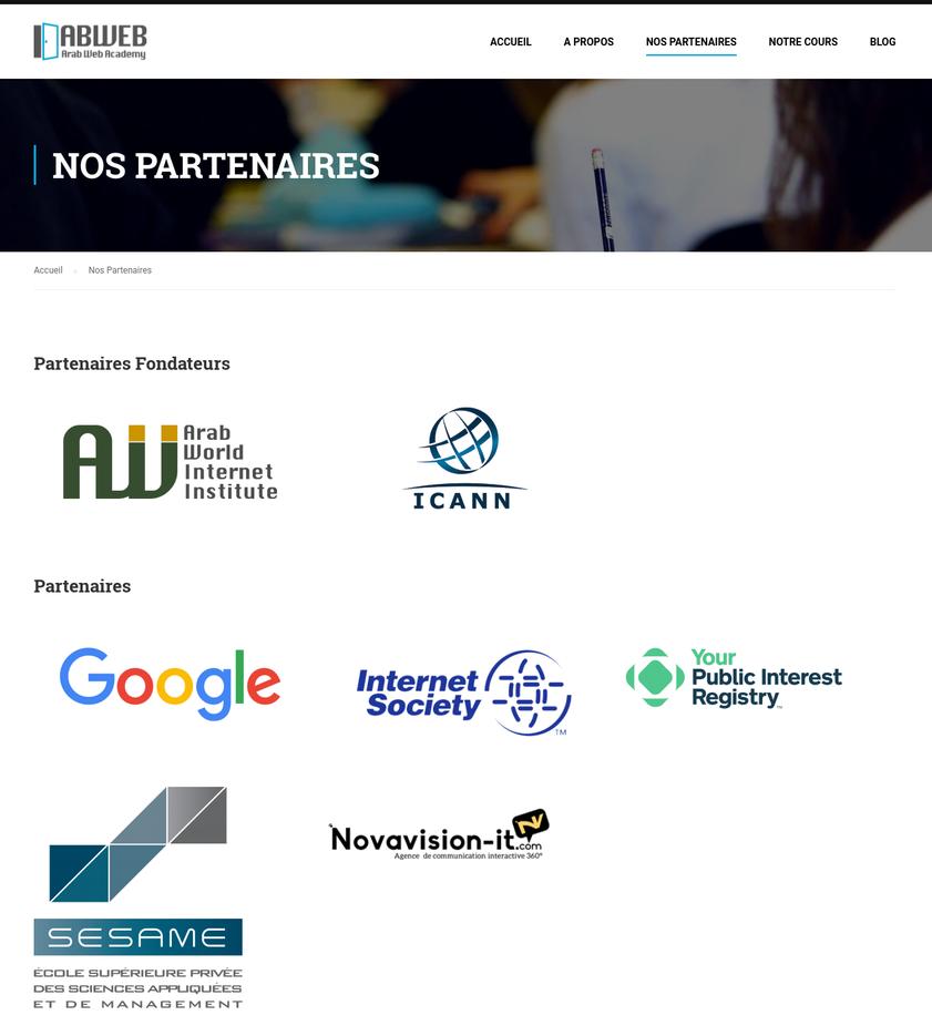 novavision-it partenaire abweb arab web academy